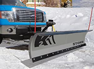 K2 Plows STOR8422 Storm Snow Plow, 84 by 22-Inch
