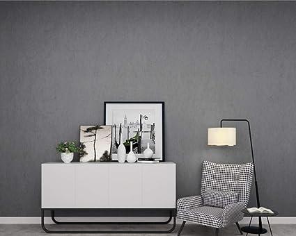 Papier peint moderne série de soie gris minimaliste papier ...