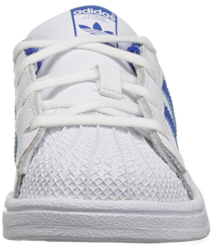 Royal Superstar White Boys' Collegiate Originals adidas Trainers Blue p5vBW0WUxn