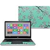MightySkins Skin For HP Pavilion x360 14'' (2017) - Cherry Blossom Tree | Protective, Durable, and Unique Vinyl Decal wrap cover | Easy To Apply, Remove, and Change Styles | Made in the USA