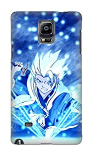 Quality Exultantor Case Cover With Anime Bleach Nice Appearance Compatible With Galaxy Note 4()
