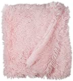 BESSIE AND BARNIE Pet Blanket, X-Large, Bubble Gum/Bubble Gum without Ruffle