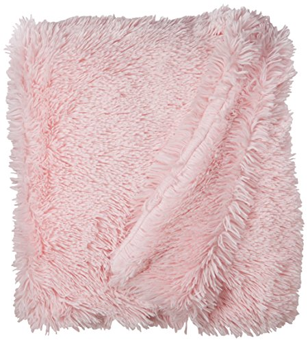 BESSIE AND BARNIE Pet Blanket, X-Large, Bubble Gum/Bubble Gum without Ruffle by BESSIE AND BARNIE