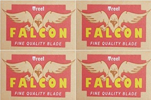 40 Treet Falcon Double Edge Razor Blades