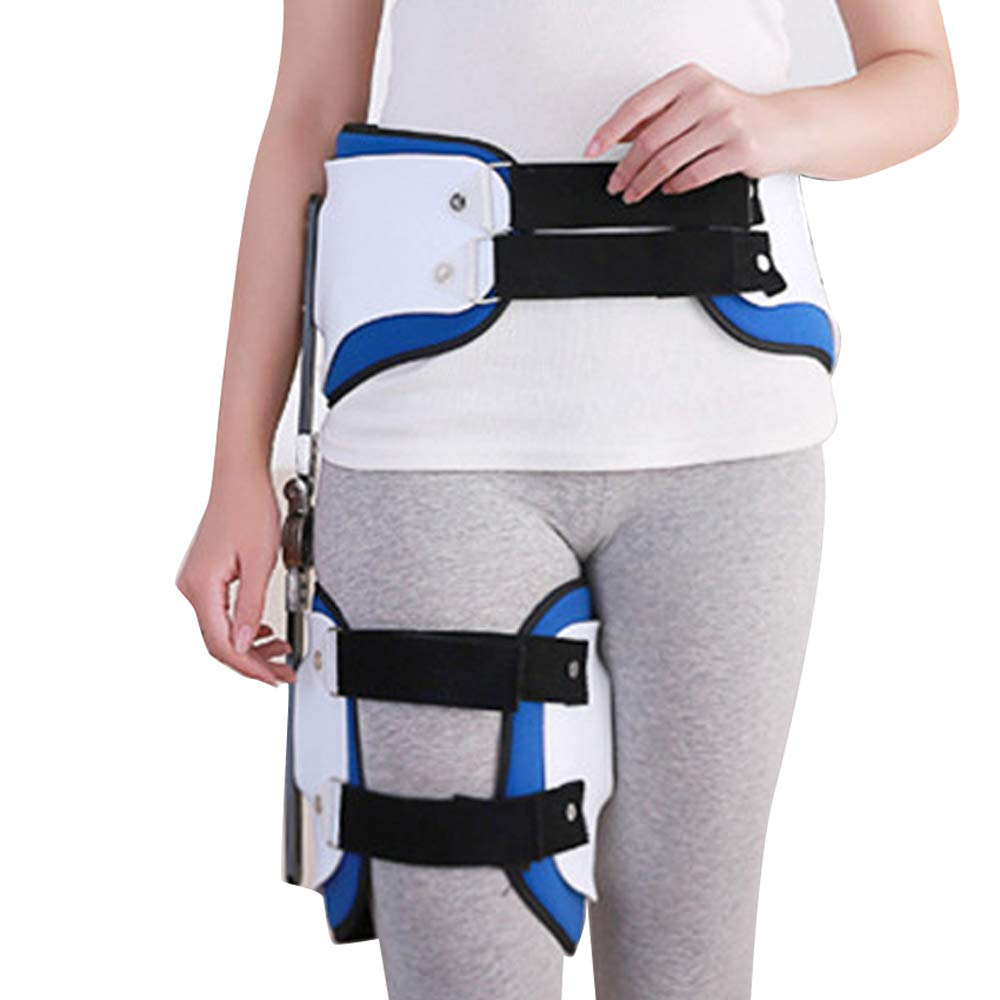 Hip Stabiliser Support Brace,Fencia Hip Stabiliser Corrector Support Brace Adult Hinged Hip Abduction Orthosis for Hip, Groin, Hamstring, Thigh, and Sciatic Nerve Pain Relief