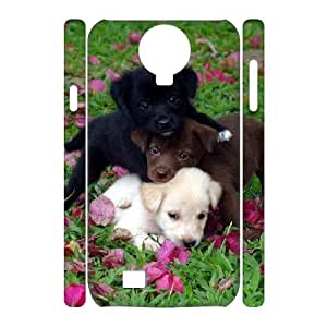 Unique Design Durable Hard Cover Case Cover for SamSung Galaxy S4 I9500 3D Phone Case - Animals Dog HX-MI-998523