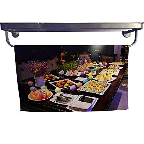 "Leigh home Dry Fast Towel,A Dessert Buffet Table,Gym Swim Hotel Use W 23.5"" x L 8"""