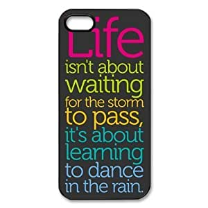 BestElec(TM) Life Quotes for iPhone 5 Case Hard Plastic for iPhone 5 Case wangjiang maoyi