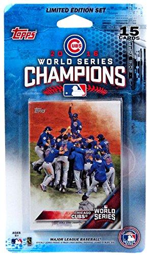 fan products of Chicago Cubs 2016 Topps Baseball World Series Champions Limited Edition Set