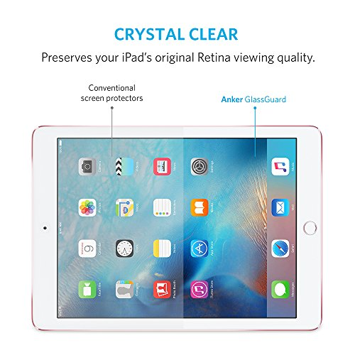 anker glass screen protector ipad air 2 allows drag-and-drop
