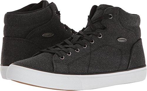 (Lugz Men's King Fashion Sneaker, Black/White/Gum, 10.5 M)