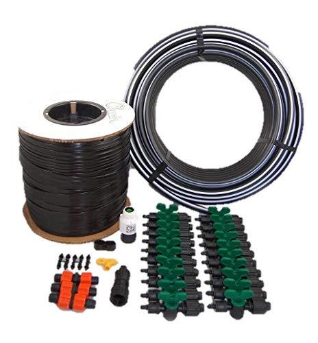 - Vegetable Garden Drip Kit – 20 Rows x 50 Ft– Watering Garden Drip Irrigation