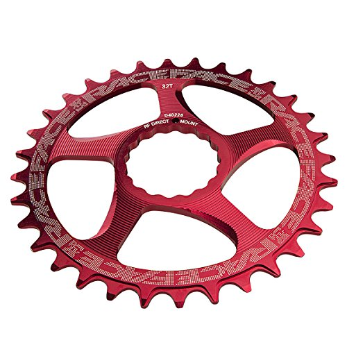 RaceFace 10/11 Speed Cinch Direct Mount Chainring, Red, 28T ()