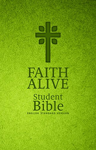 Faith Alive Bible - Green with Cross