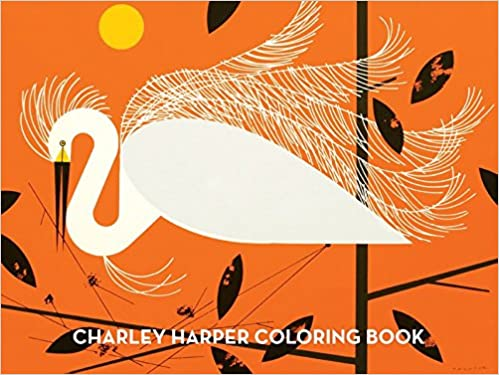 Charley Harper Coloring Book 9781934429235 Books