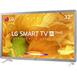 Smart TV LG LED 32'' HD Thinq AI Conversor Digital Integrado 3 HDMI 2 USB Wi-Fi com Inteligência Artificial - 32LM620BPSA