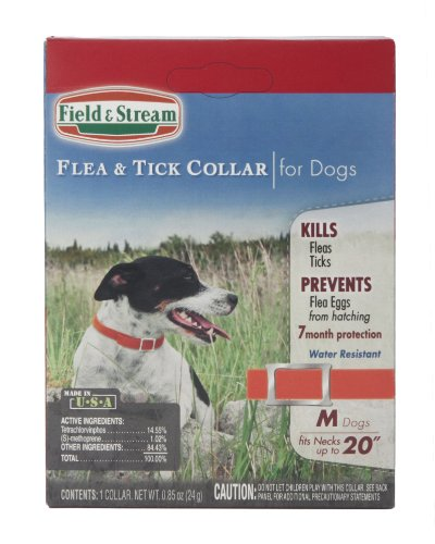 Field & Stream Flea and Tick Collar for Small/Medium Dogs