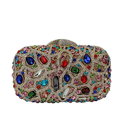 1 Soirée Embrayage De De Mesdames Cristal Luxe Pochette q0BYw6z8