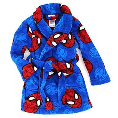 Spider-Man Boys Fleece Bathrobe Robe (Toddler/Little Kid)