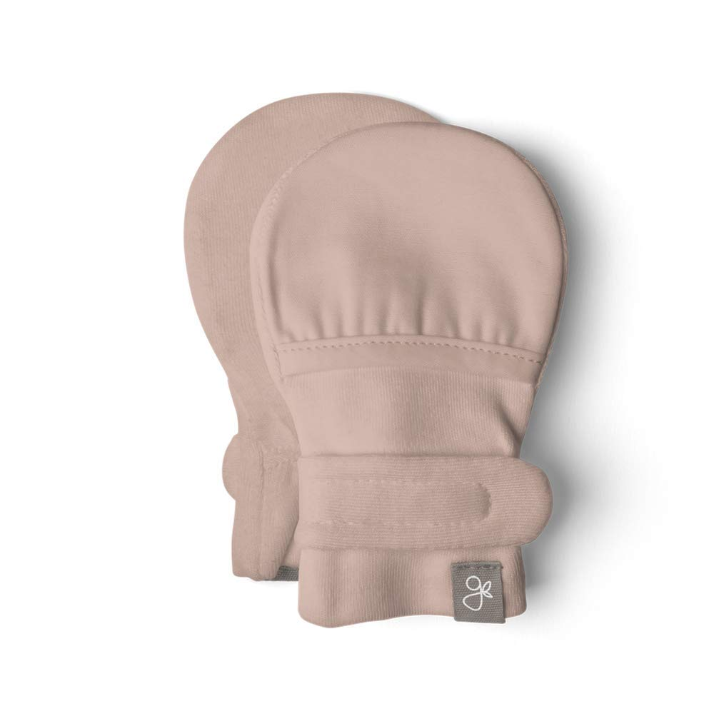 Stops Scratches and Prevents Germs Scratch Free Baby Mittens Organic Soft Stay On Unisex Mittens Goumimitts