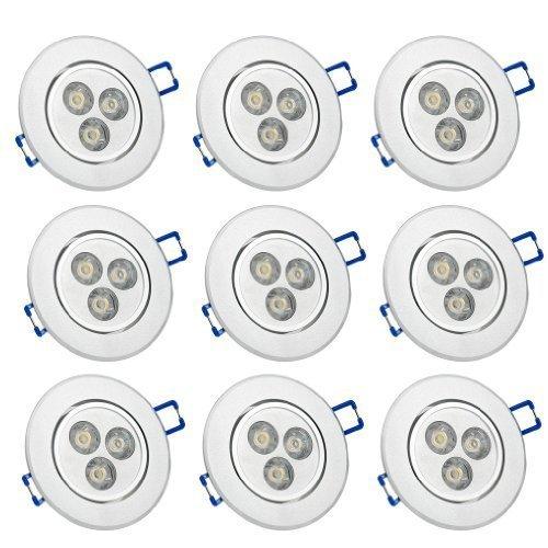 38 opinioni per Auralum- faretto a LED da incasso