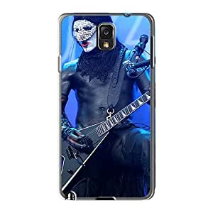 Shock Absorbent Hard Cell-phone Case For Samsung Galaxy Note3 (PRx14615gmGg) Allow Personal Design Fashion Limp Bizkit Band Skin