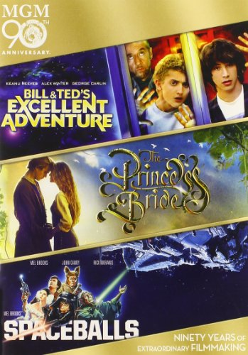 Bill & Ted's Excellent Adventure / The Princess Bride / Spaceballs (3 Pack, Widescreen, Pan & Scan, 3PC)