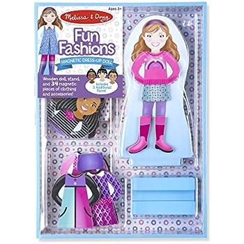 Melissa & Doug Magnetic Dress-up-Fun Fashions Set
