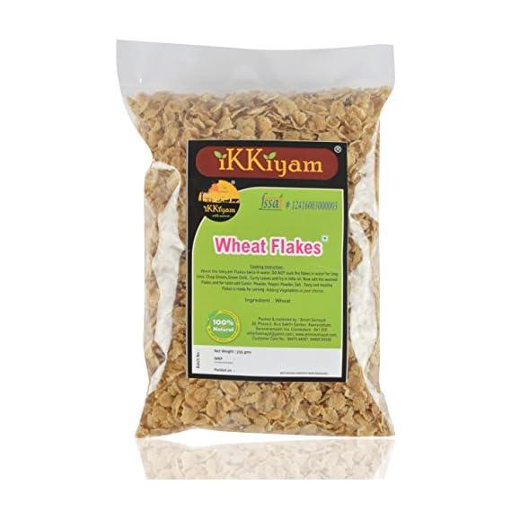 Ikkiyam Wheat Flakes (Poha), 250 Grams