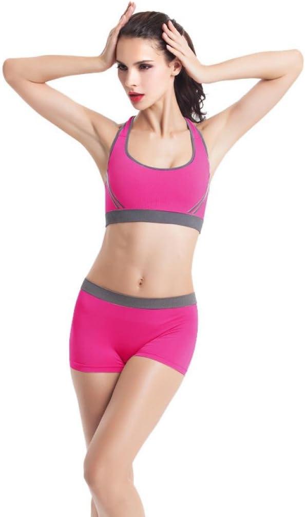 Covermason Women Yoga Racerback Bra Padded Athletic Vest Gym Fitness shorts Set
