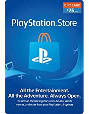 $75 PlayStation Store Gift Card [Digital Code]