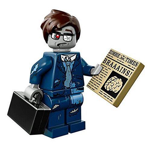 Halloween Mini Figure - Lego Mini Figure Series 14 Zombie Businessman Halloween x1 Loose