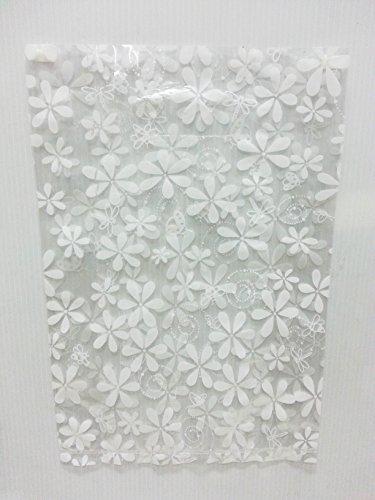 Plastic Transparent Hat (Lin NaDa Small 50 Pcs.Treat Goody Plastic Bag 8