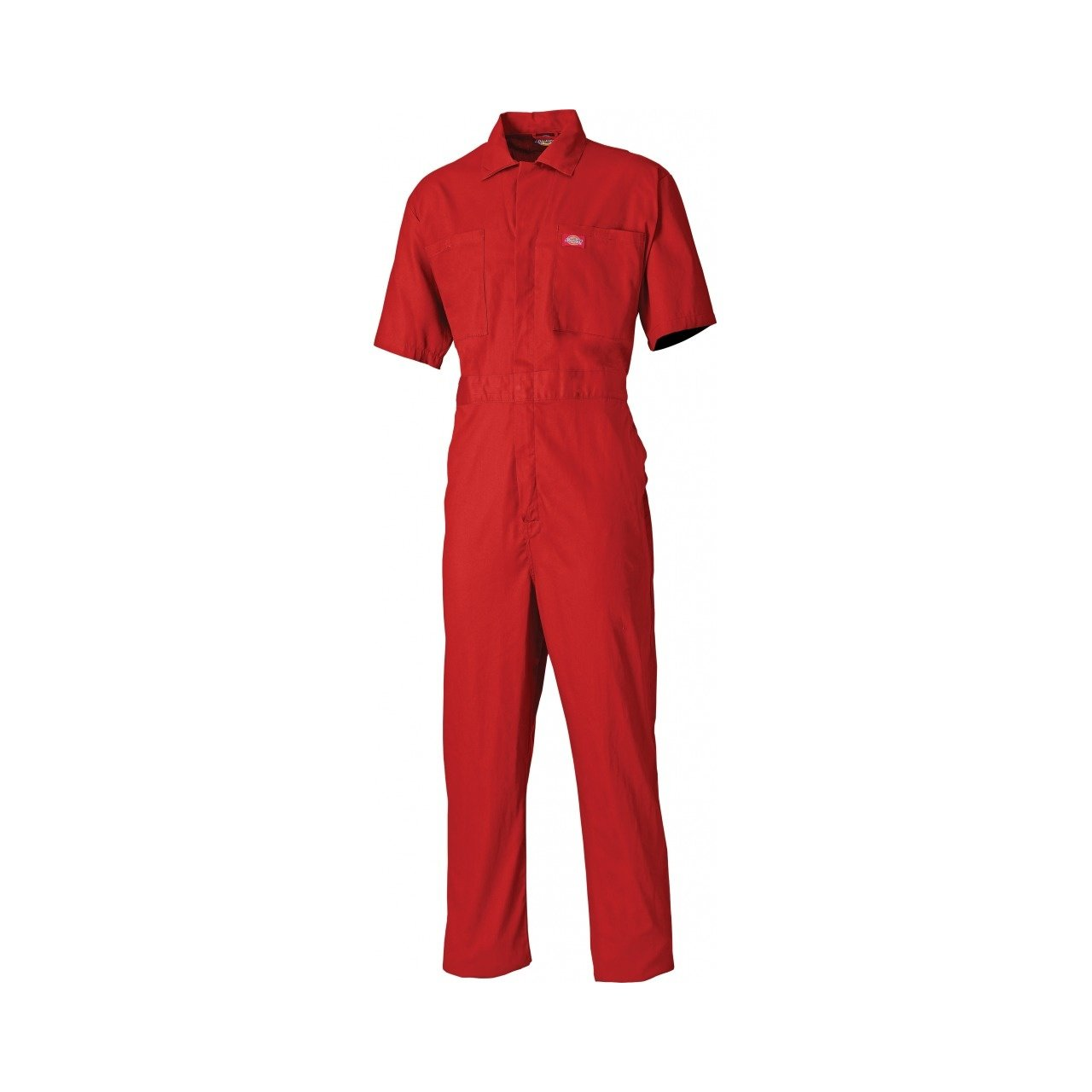 Dickies Mens Work Wear Short Sleeved Cotton Coverall (Regular Leg Length)
