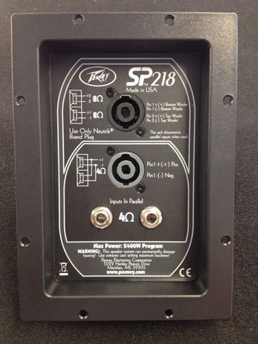 Peavey SP218 Crossover Factory Crossover Direct Replacement SP 218 SP-218