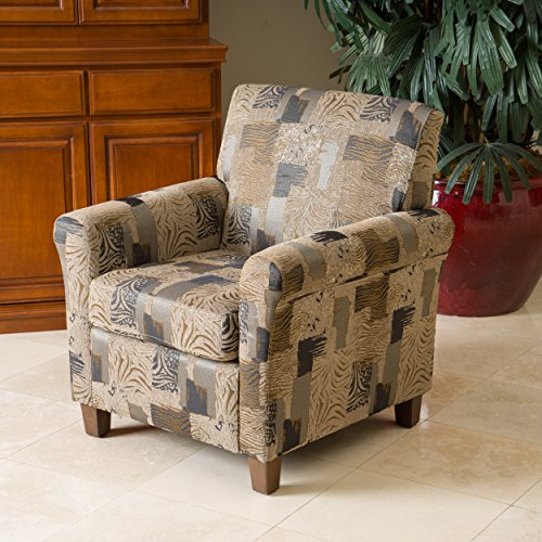 Christopher Knight Home 295197 Brunswick Club Chair, Multicolor