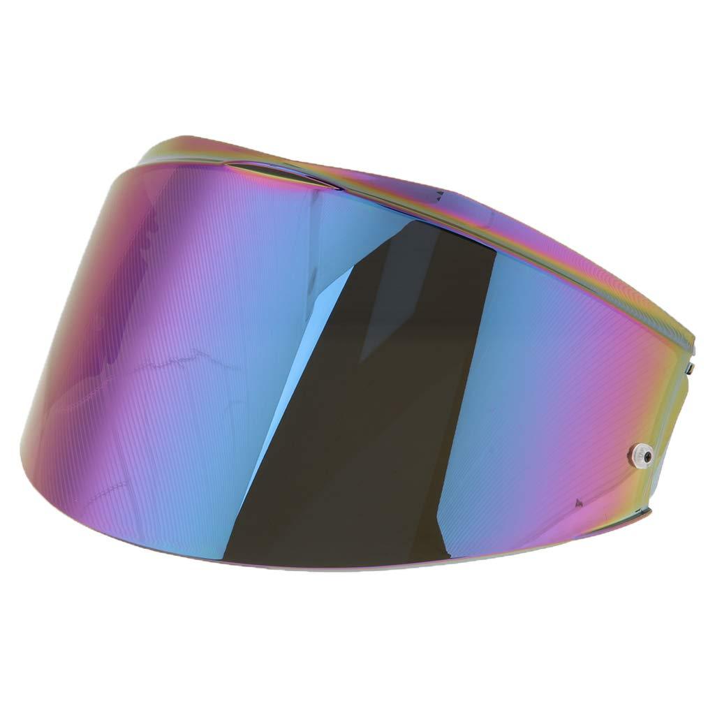 Lente clara Sharplace Visor de Casco Abatible Compatible con LS2 FF399