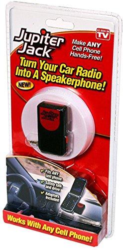 (Ontel Products JJACK-MC12 Jupiter Jack Cell Phone/Car Speakerphone)