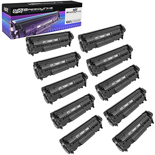 (Speedy Inks Compatible Toner Cartridge Replacement for HP 12A (Black, 10-Pack))
