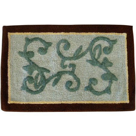Mainstays Butterfly Blessing Cotton Bath Rug