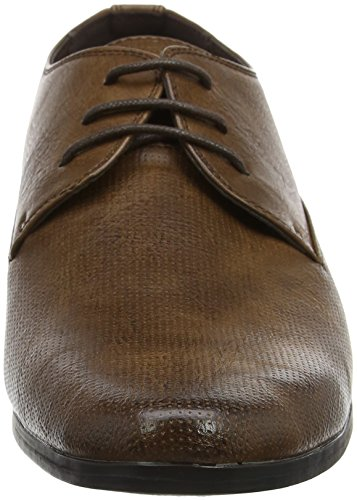 Scarpe Look New Gibson Marrone Uomo Stringate Derby Tan OpFqxwFE