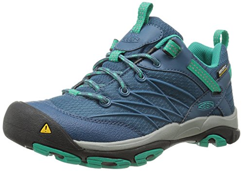 Keen Women's Marshall WP Hiking Shoe, Indian Teal/Dynasty...