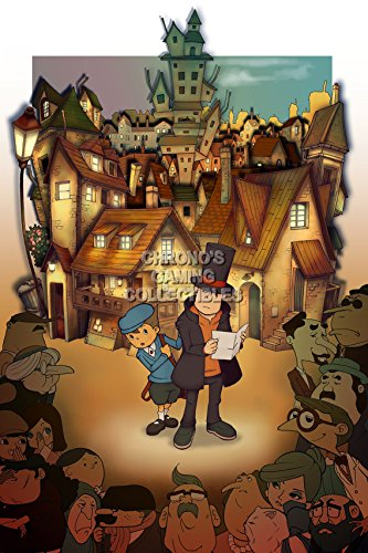 CGC Huge Poster - Professor Layton and the Curious Village Nintendo DS - OTH076 (24