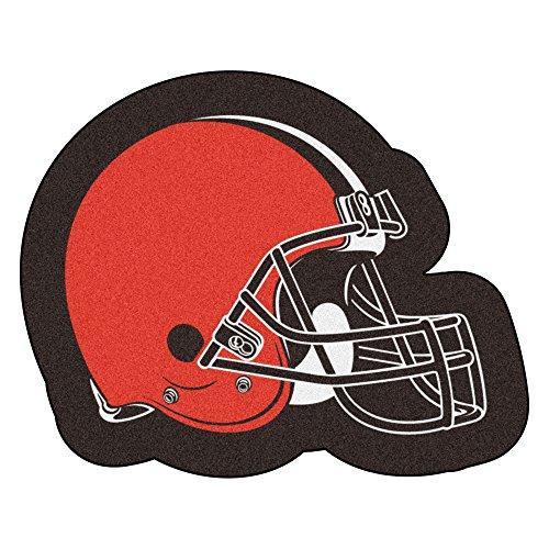 FANMATS 20966 Team Color 3' x 4' NFL - Cleveland Browns Mascot Mat
