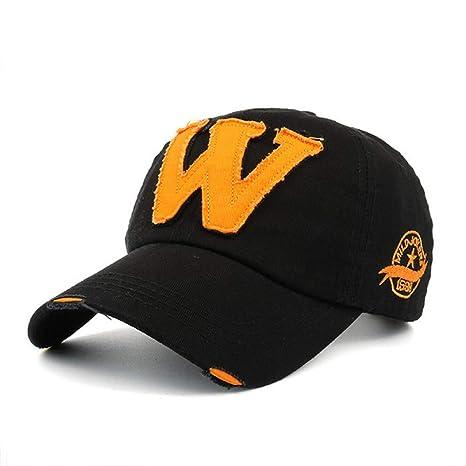 YUANBAOG Gorra de béisbol Bordado de algodón Letra W Hombres ...