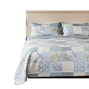 SLPR 100% Cotton Pattern Quilt Set from SLPR