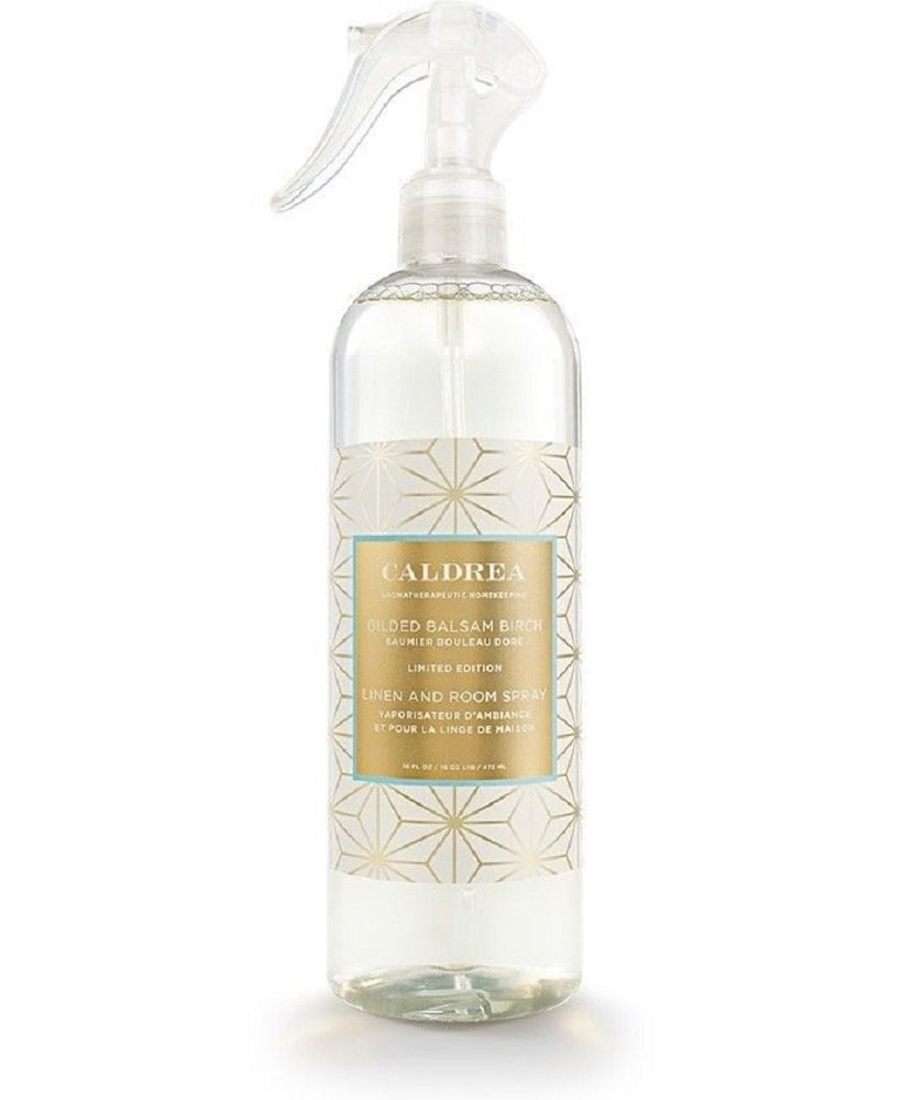 Caldrea - Linen and Room Spray Gilded Balsam Birch - 16 fl. oz.
