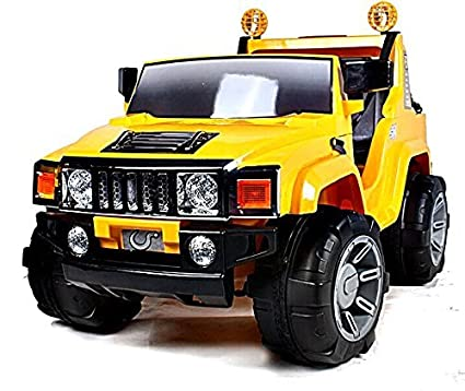 Amazon Com Electric Battery Operated Ride On Car For Kids Hummer H2