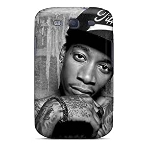 JoanneOickle Samsung Galaxy S3 Shock-Absorbing Hard Cell-phone Case Allow Personal Design Fashion Wiz Khalifa Pictures [Byx10679UlOG]