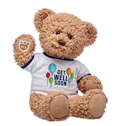 Build A Bear Workshop Timeless Teddy Bear Get Well Soon Gift Set, 16 inches